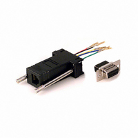 ADAPTER DB9S RJ12/FEM 6 CONTACT