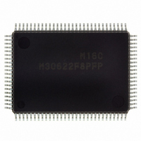 IC M16C MCU FLASH 64K 100QFP