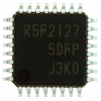 IC R8C/27 MCU FLASH 32LQFP