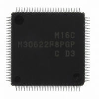 IC M16C MCU FLASH 64K 100LQFP