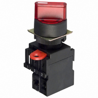Omron A22S-2M Knob Type Selector Non-Lighted 2 Notches IP65 Oil-Resistant Manual Reset Method,