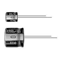 Aluminum Electrolytic Capacitors - Leaded 6.3volts 1000uF 0.2L/S