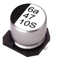 Aluminum Electrolytic Capacitors - SMD 25 Volts 10uF 20% 5x5.3