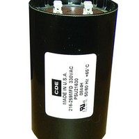 MOTOR-RUN AND POWER SUPPLY CAPACITORS