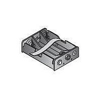 Battery Holders, Snaps & Contacts 3 AAA PC LDS W/RIB