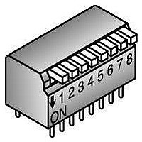 DIP Switches / SIP Switches DIP SW 8 POS