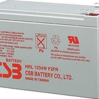 Sealed Lead Acid Battery 12V 34W .250 Faston tabs