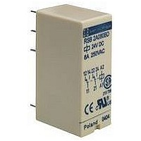 INTERFACE RELAY, DPDT, 24VAC, 400OHM