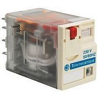 INTERFACE RELAY, DPDT, 24VDC, 650OHM