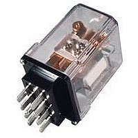 POWER RELAY, DPDT, 120VAC, 30A, PLUG IN