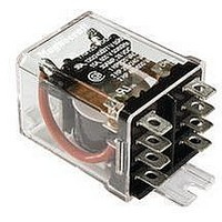 POWER RELAY, DPDT, 24VDC, 30A, FLANGE