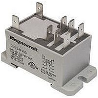 POWER RELAY, DPDT, 24VDC, 30A, DIN RAIL