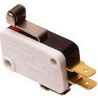 MICRO SWITCH, PUSHBUTTON, SPDT, 10A 250V
