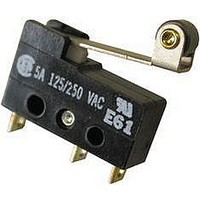 MICRO SWITCH, PIN PLUNGER, SPDT, 5A 250V