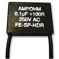 CONTACT SUPPRESSOR, 0.1UF, 100R