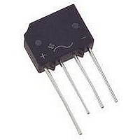 BRIDGE RECTIFIER, 1PH, 4A, 600V THD