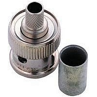 RF/COAXIAL, BNC PLUG, STR, 75OHM, CRIMP