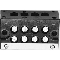 TERMINAL BLOCK, BARRIER, 8POS, 18-6AWG