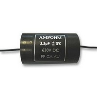 CAPACITOR, AUDIO, 3.3UF, 630VDC