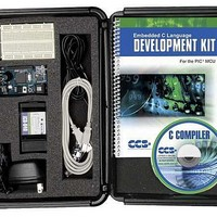 MCU, MPU & DSP Development Tools PIC16F887 Dev Kit w/PCWH