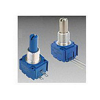 Panel Mount Potentiometers 5/8 10K 20% Square Single Turn