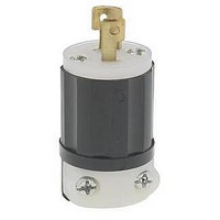 DC Power Connectors 2P 15A/125V Plug NEMA ML-1R locking