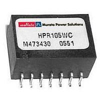 DC/DC Converters & Regulators .75W 5V to 12V 62mA Single Output