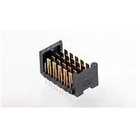 High Speed / Modular Connectors 2MM HM RCPT 50P R/A AU