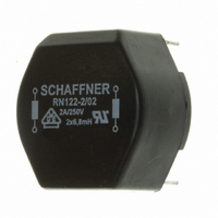 10 Schaffner RN122-2//02 Current Compesated Chokes