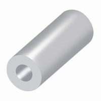 SPACER ROUND M3 PLASTIC 10MM
