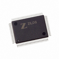 IC Z180 MPU 80-QFP