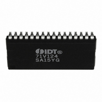 IC SRAM 1MBIT 15NS 32SOJ