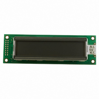 LCD MODULE 20X2 CHARACTER W/LED