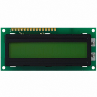 LCD MODULE 16X1 W/LED BACKLIGHT