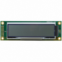 LCD MODULE 20X2 WHITE BACKLIGHT
