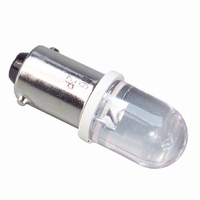 LED DOME 10MM BA9S 590NM SUP YLW