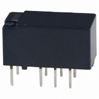 RELAY PC MNT DPDT 10MA 4.5VDC