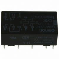RELAY LATCHING DPDT 2A 12VDC