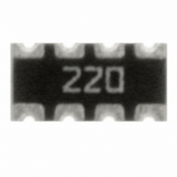 RES ARRAY 22 OHM 8TRM 4 RES SMD