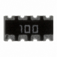 RES ARRAY 10 OHM 8TRM 4 RES SMD