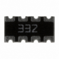 RES ARRAY 3.3K OHM 8TRM 4RES SMD